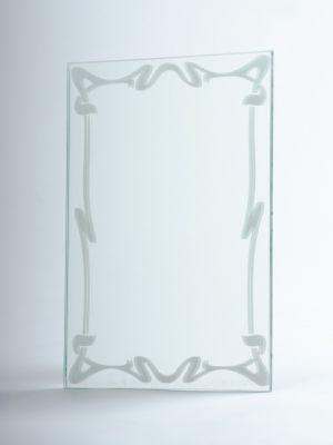 Zrkadlo Pieskované Z Vrchnej časti 2