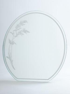 Zrkadlo Pieskované Z Vrchnej časti 3