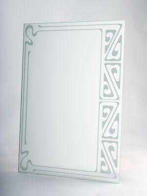 Zrkadlo Pieskovanie Z Vrchnej časti